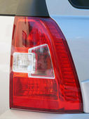 Taillight car closeup — Stock Photo