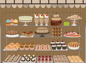 Sweet shop — Vector de stock