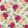 Roses pattern — Stockvektor