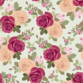 Roses pattern — Stock Vector