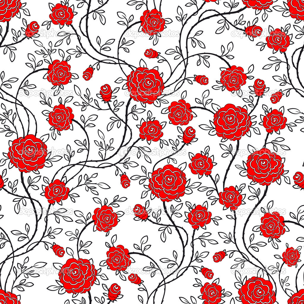 Rose Wallpaper Tumblr Rose Pattern Wallpaper hd