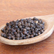 Black pepper — Stock Photo #4140837