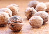 Macro view of walnut — Photo