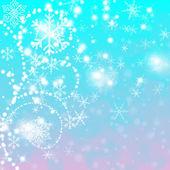 Winter background — Stock Photo