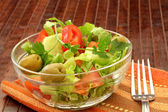 Healthy Fresh Salad — Stock Photo