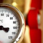 Temperature gauge — Stock Photo #4055489