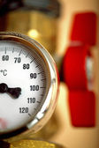 Temperature gauge — Stock Photo