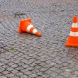 Safety Traffic Cones — Stock Photo
