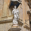 Statue of Virgin Mary and Jesus in Mdina, Malta — Stock Photo