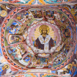 Ceiling of Rila Monastery in Bulgaria - Stock Photo