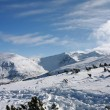 Winter mountains landscape. Bulgaria, Borovets — Stock Photo