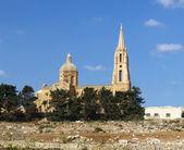 Kirche auf Gozo, maltesischen Inseln — Stockfoto