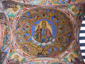 Techo de monasterio de rila en bulgaria — Foto de Stock