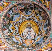 Fresky v rilský klášter, bulharsko — Stock fotografie