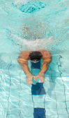 Male swimmer — Stock Photo