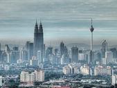 Kuala Lumpur skyline. — Stock Photo