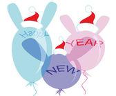 New Year — Cтоковый вектор