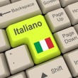 Stock Photo: Italiano language