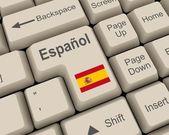 Hiszpański klucz — Zdjęcie stockowe
