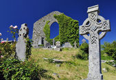 Celtic cemetery — Stock Photo