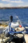 рыбалка весной — Стоковое фото
