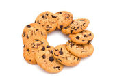 Round cookies — Stock Photo