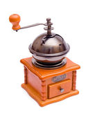Wooden retro coffee-grinder — Stock Photo