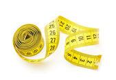 Amarillo de medición cinta i — Foto de Stock