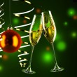 Glasses with champagne — Stock Photo #4341561