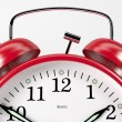 Stock Photo: RedAlarmClock04