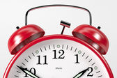 RedAlarmClock04 — Stock Photo