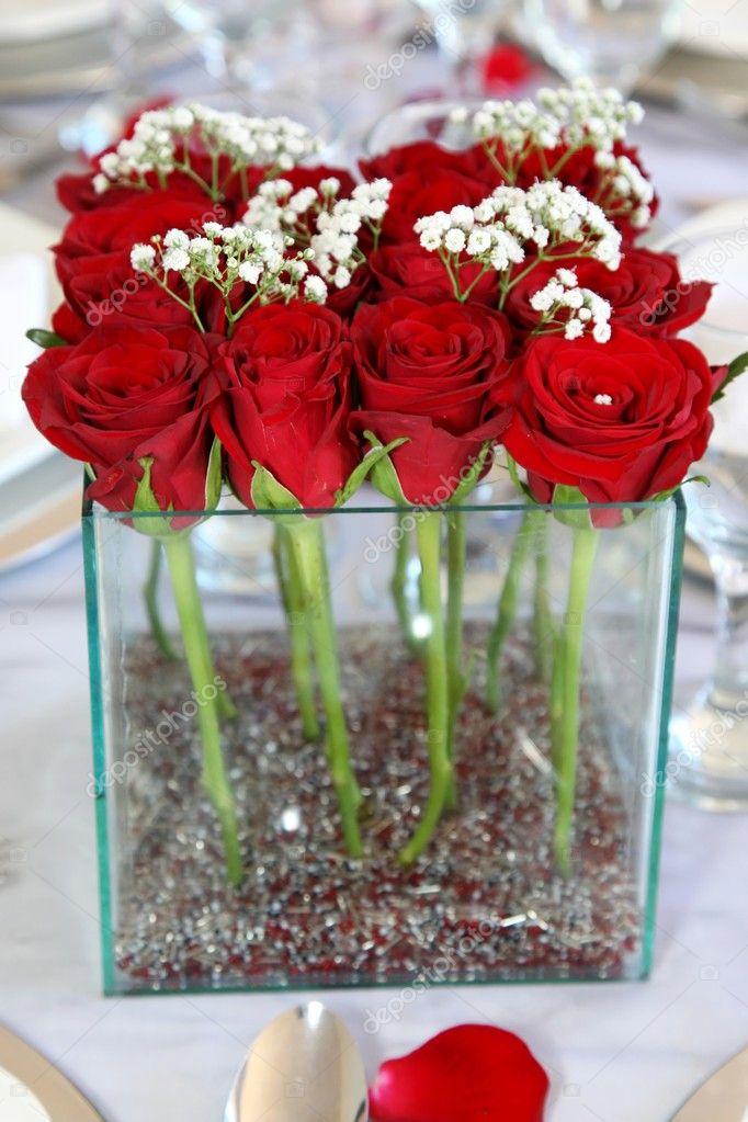 Red Rose Flower Arrangements