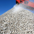 Buiding Stone and Conveyor - Stock Photo