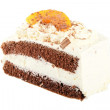 Cream Cake Slice — Stock Photo