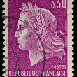French Postage Stamp — Stock Photo
