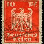 Постер, плакат: Germany Postage Stamp
