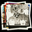 Beatles Pop Group Postage Stamp — Stock Photo