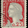 France Postage Stamp — Stock Photo