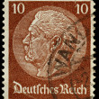 Germany Postage Stamp — Stock Photo