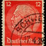 Germany Postage Stamp — Stock Photo