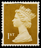 Inglaterra selo de primeira classe — Foto Stock