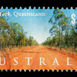 Australia Postage Stamp — Stock Photo