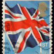 Britain Postage Stamp — Stock Photo #4335693