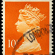 Britain Postage Stamp - Stock Photo