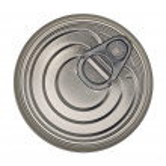 Food Tin Can Lid — Stock Photo