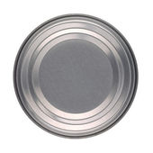 Food Tin Can Base or Lid — Stock Photo