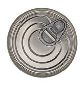 Food Tin Can Lid — Stock Photo