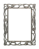 Blank Metal Frame — Stock Photo