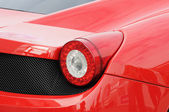 Red sports car — Stock Photo