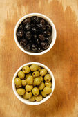 Tasted olives — Stock Photo